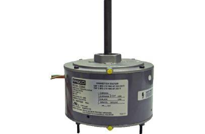 Rheem ruud condenser fan motor replacement d2840 for Rheem furnace blower motor replacement